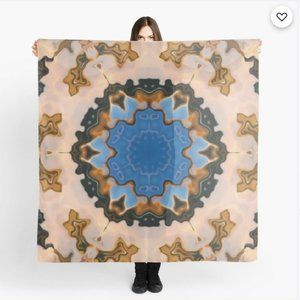 Sultry Desert Storm_ Scarf